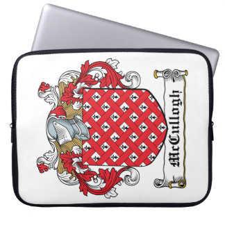 McCullogh Family Crest Laptop Computer Sleeve