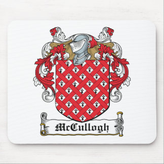 McCullogh Family Crest Mouse Mats
