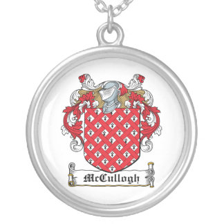 McCullogh Family Crest Pendant