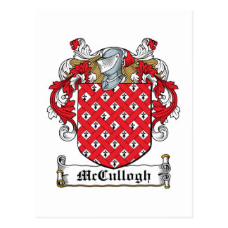 McCullogh Family Crest Post Cards