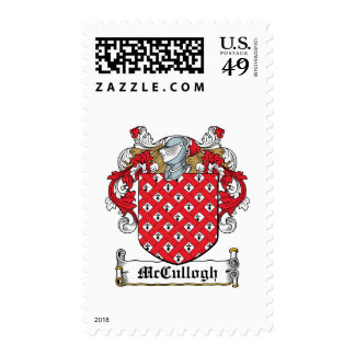 McCullogh Family Crest Postage