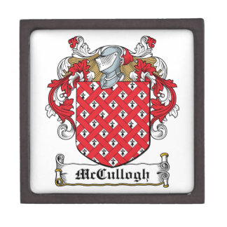 McCullogh Family Crest Premium Jewelry Boxes