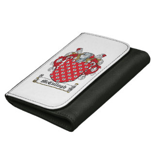 McCullogh Family Crest Wallets For Women
