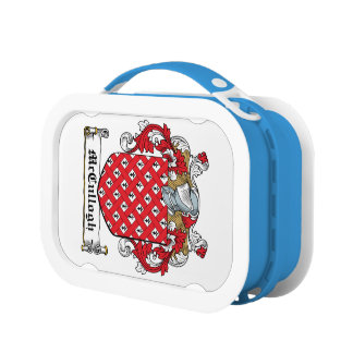 McCullogh Family Crest Yubo Lunchbox