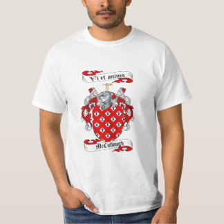 Mccullough Family Crest - Mccullough Coat of Arms T-Shirt