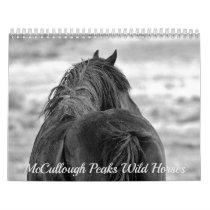 McCullough Peaks Wild Horses Calendar