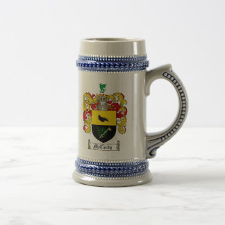 McCurdy Coat of Arms Stein 18 Oz Beer Stein