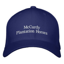 McCurdy Plantation Horses Embroidered Baseball Hat