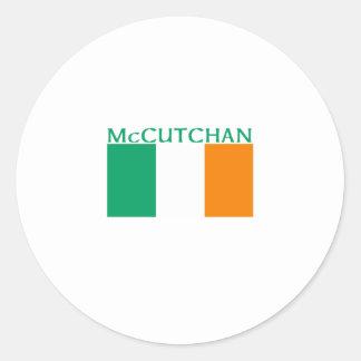 McCutchan Classic Round Sticker