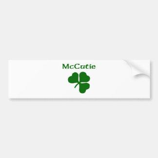 McCutie Car Bumper Sticker