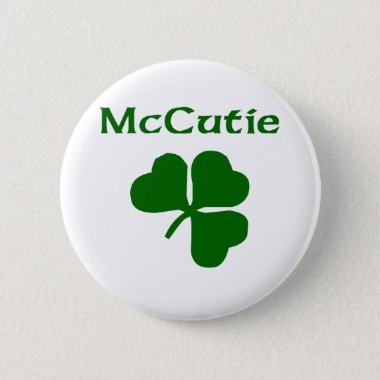 McCutie Pinback Button