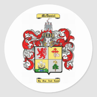 mcdaniel classic round sticker