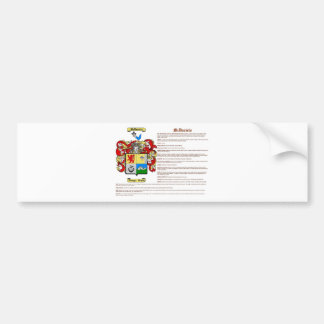 McDaniels (meaning) Bumper Sticker