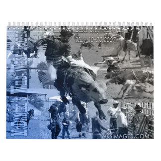 """McDaniel's Wild West Rodeo"" Wall Calendars"