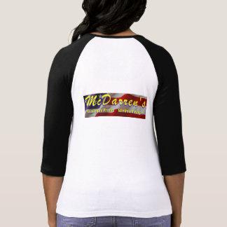 McDarren's Fast Food Uniform Tee Shirt