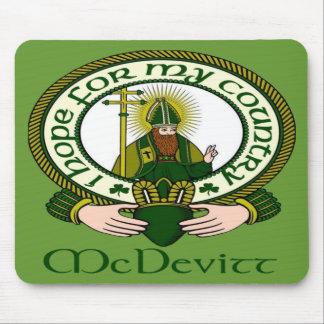 McDevitt Clan Motto Mouse Pad