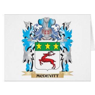 Mcdevitt Coat of Arms - Family Crest Card