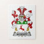 McDevitt Family Crest Puzzles