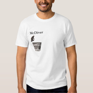 McDiver Dumpster Diver t-shirt