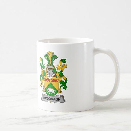 McDonagh Family Crest Mugs