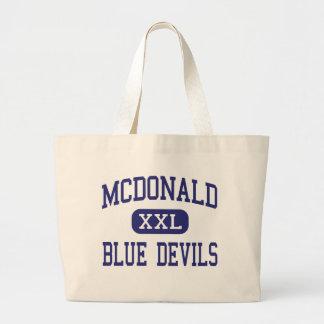 McDonald - Blue Devils - High - McDonald Ohio Tote Bag