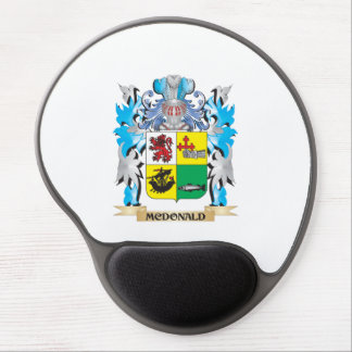 Mcdonald- Coat of Arms - Family Crest Gel Mouse Mat