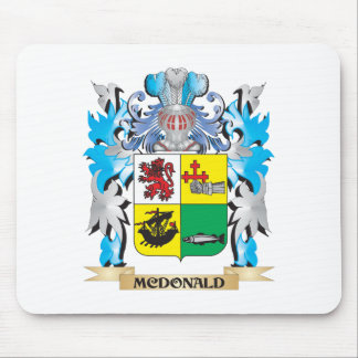 Mcdonald- Coat of Arms - Family Crest Mouse Pads