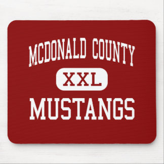 McDonald County - Mustangs - High - Anderson Mouse Mats