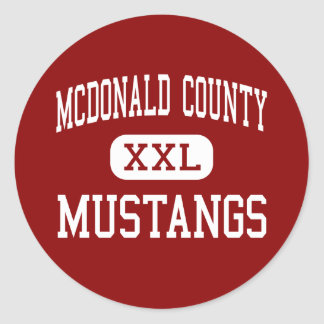 McDonald County - Mustangs - High - Anderson Sticker