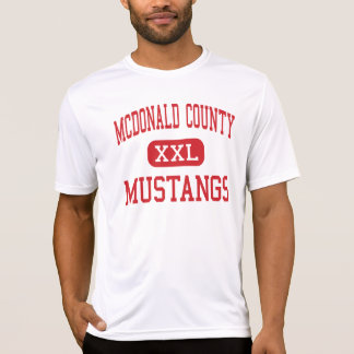 McDonald County - Mustangs - High - Anderson T-shirt