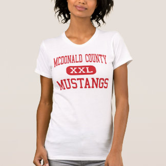 McDonald County - Mustangs - High - Anderson T-shirts