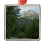 McDonald Creek at Glacier National Park Metal Ornament