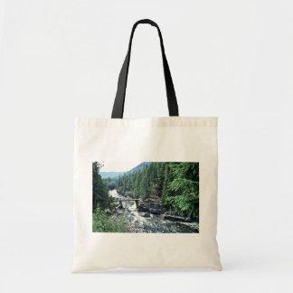 Mcdonald Creek - Glacier National Park Tote Bags