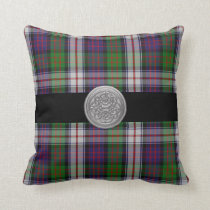 McDonald DressTartan Plaid Pillow with Celtic Knot