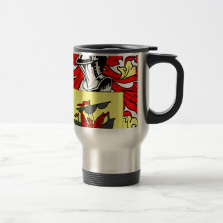 McDonald (English) Coat of Arms Travel Mug