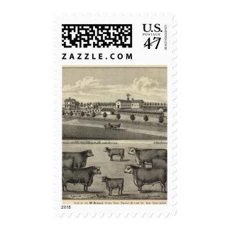 McDonald Farm, Nebraska Postage