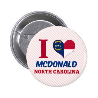 McDonald North Carolina Pin