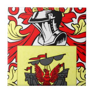 McDonald (Scottish) Coat of Arms Ceramic Tile