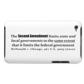 McDonald v. Chicago, 561 U.S. 3025 (2010) iPod Touch Case