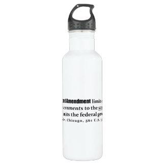 McDonald v. Chicago, 561 U.S. 3025 (2010) 24oz Water Bottle