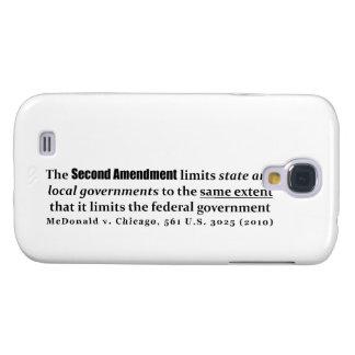 McDonald v. Chicago, los 561 E.E.U.U. 3025 (2010) Funda Para Galaxy S4