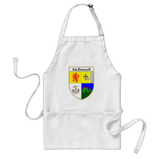 McDonnell Coat of Arms/Family Crest Adult Apron