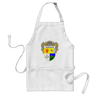 McDonnell Coat of Arms (Mantled) Adult Apron