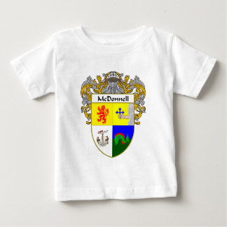 McDonnell Coat of Arms (Mantled) Baby T-Shirt