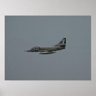 McDonnell Douglas A-4 Skyhawk. Poster