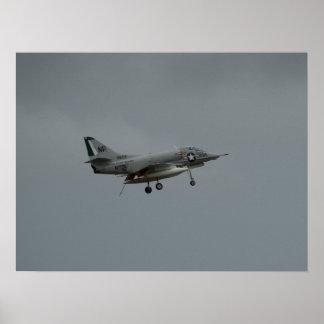 McDonnell Douglas A-4 Skyhawk. Print