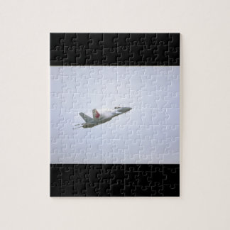 McDonnell Douglas CF-18A_Aviation Photograp II Jigsaw Puzzle