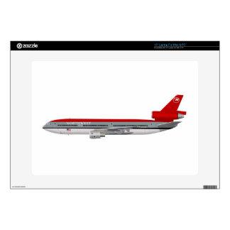 "McDonnell Douglas DC-10 Northwest N234NW 15"" Laptop Decals"