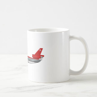 McDonnell Douglas DC-10 Northwest N234NW Classic White Coffee Mug