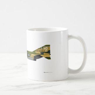 McDonnell Douglas F-4E Phantom II Classic White Coffee Mug